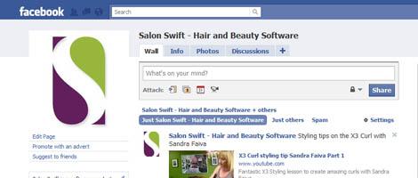 salon software facebook